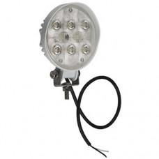 Στρογγυλός Προβολέας με Βάση και LED